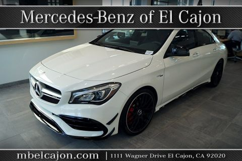 New 2018 Mercedes-Benz AMG® CLA 45 Coupe AWD 4MATIC®