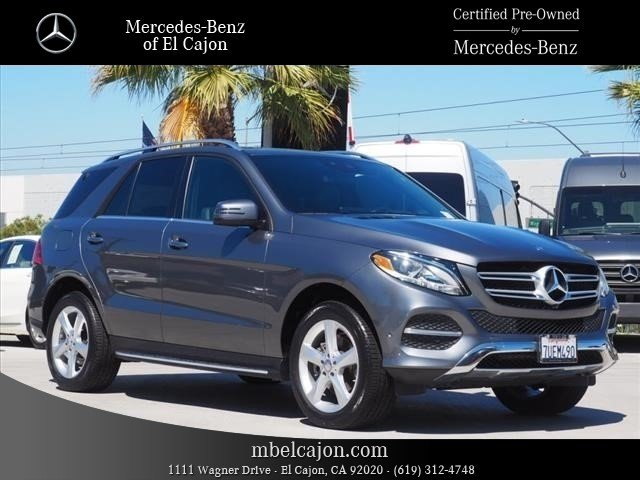 Certified Pre-Owned 2017 Mercedes-Benz GLE GLE 350W4