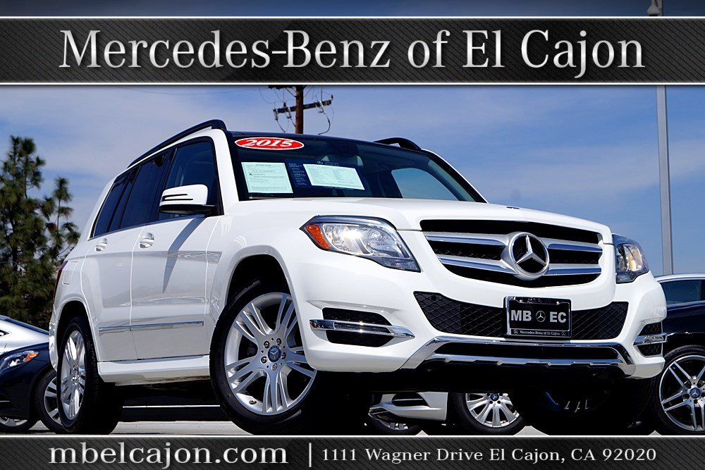 Pre owned 2015 mercedes benz glk glk 350 suv in el cajon for Mercedes benz glk 350 maintenance schedule