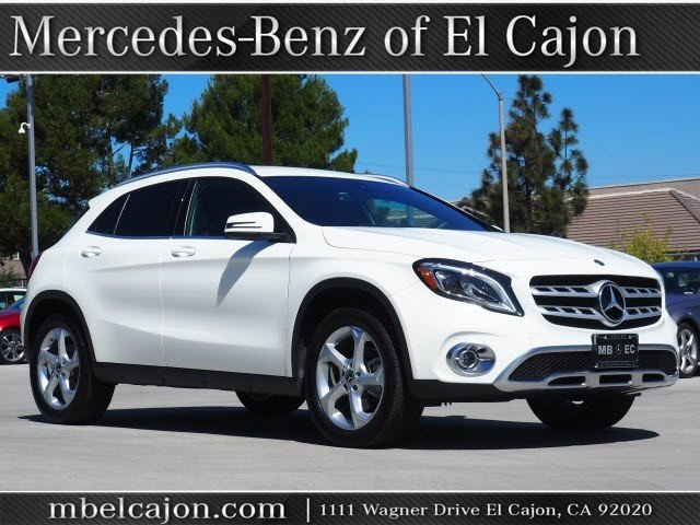 Mercedes Benz Suvs >> Certified Pre Owned 2019 Mercedes Benz Gla Gla 250 Suv In El Cajon