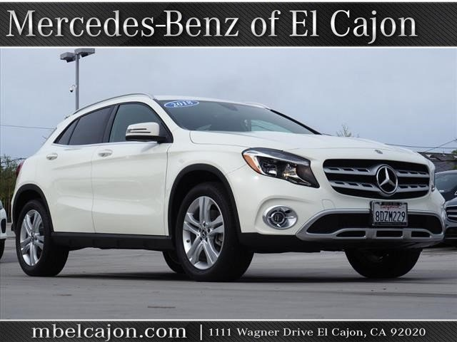 Certified Pre-Owned 2018 Mercedes-Benz GLA 250 Front Wheel Drive SUV
