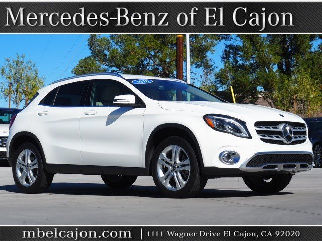 Certified Pre-Owned 2018 Mercedes-Benz GLA GLA 250W