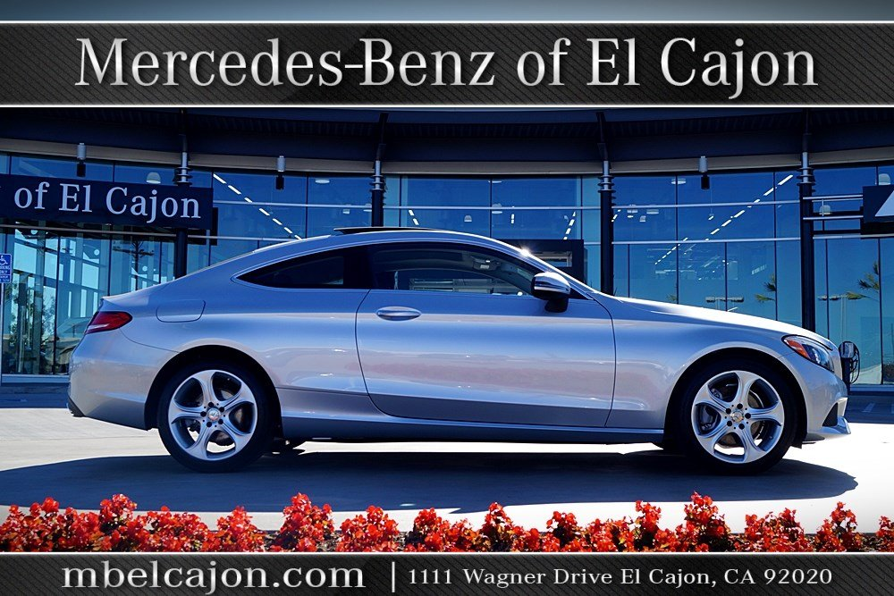 Certified Pre-Owned 2017 Mercedes-Benz C 300 Rear Wheel Drive COUPE